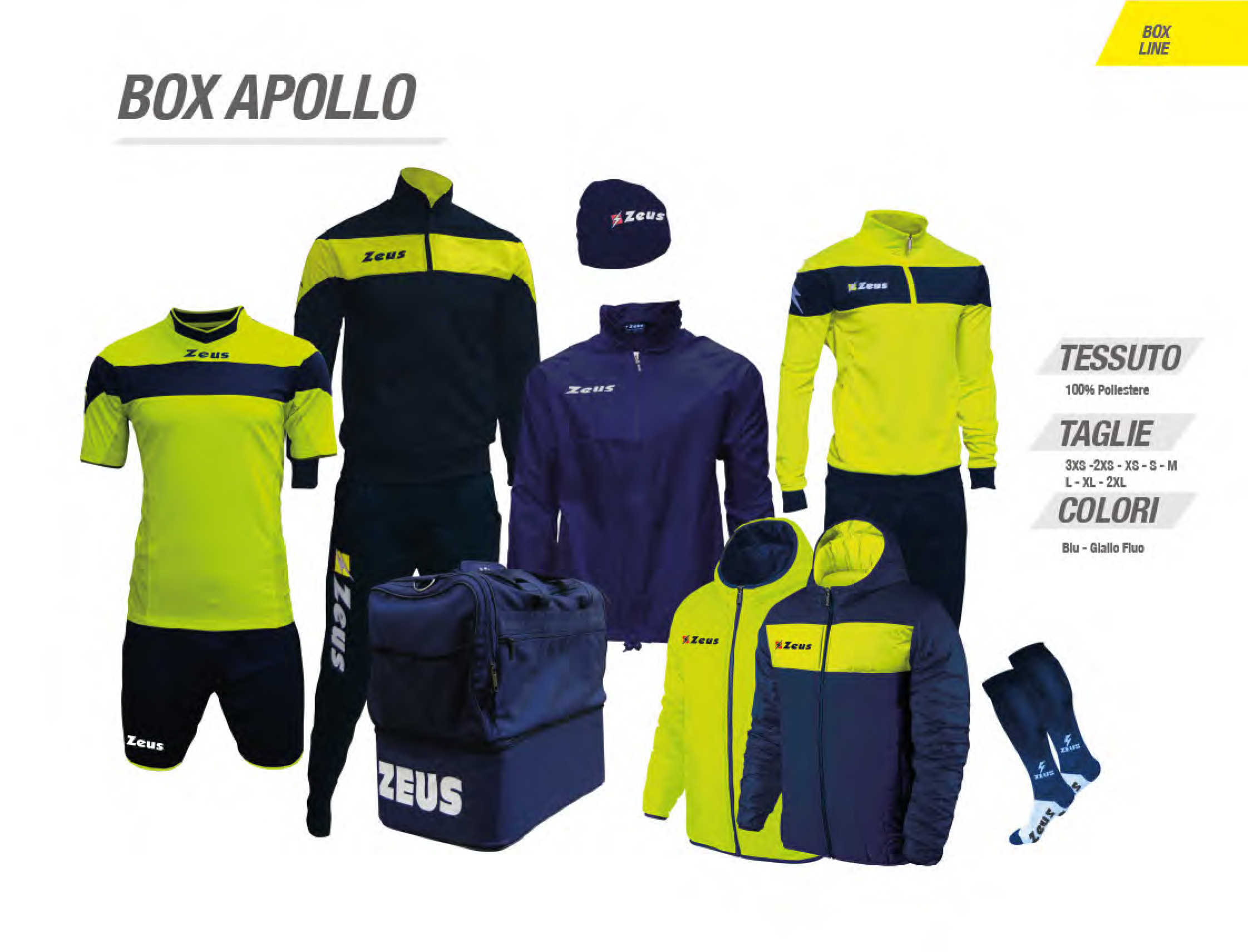 BOX APOLLO : 85  €